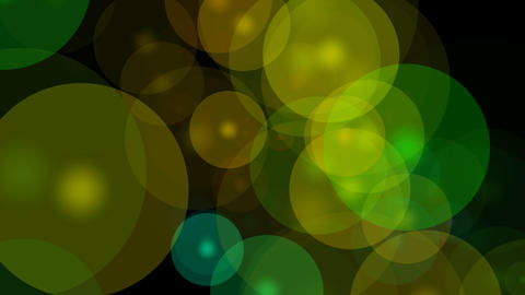 colorful overlay circle Stock Video Footage