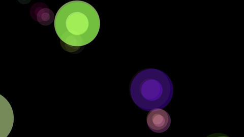circle dot retro Stock Video Footage