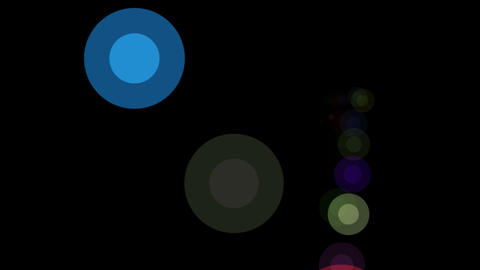 circle dot retro Animation