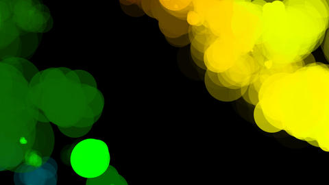 color paint wiggle Stock Video Footage