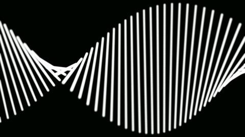dna white stick Animation