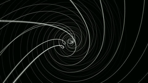 hypnotize matte line Animation