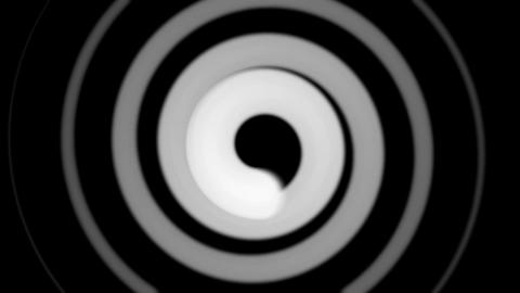 black & white hypnotize Animation