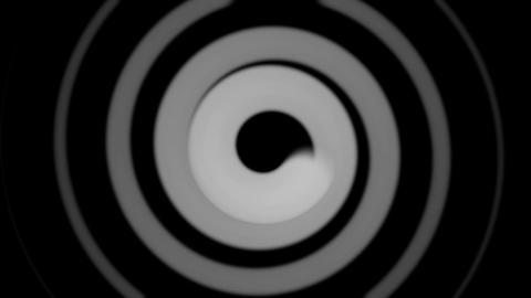 black & white hypnotize Stock Video Footage