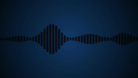 audio wave shadow Animation