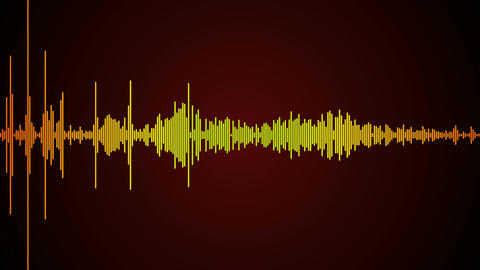 sound wave spectrum Stock Video Footage