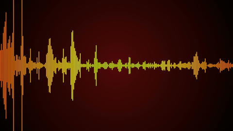 sound wave spectrum Animation
