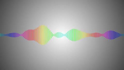 vignette digital spectrum Stock Video Footage
