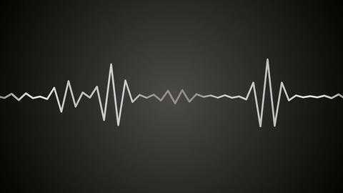 retro audio spectrum Stock Video Footage