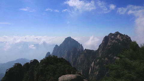 Huangshan Stock Video Footage