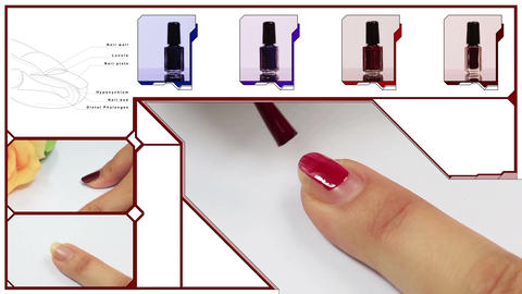 nail Stock Video Footage