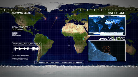 satellite HD Animation