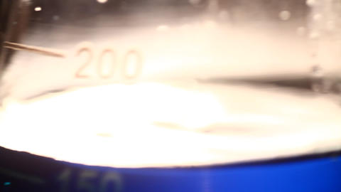 Lab test beaker Stock Video Footage