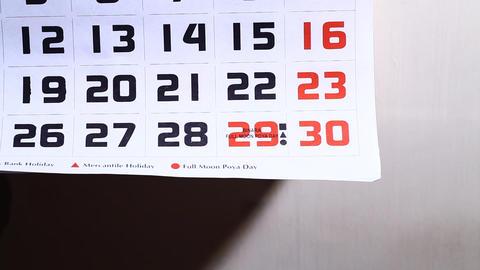 Calendar Footage