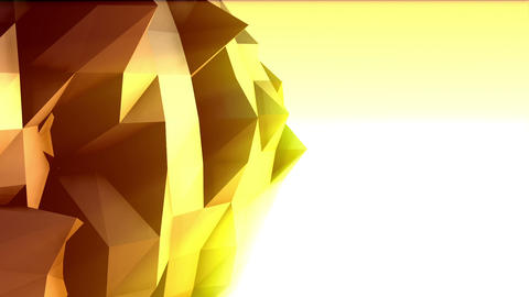 Geometric Mountain 2 Stock Video Footage