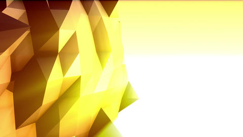 Geometric Mountain 2 stock footage