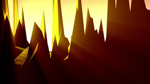 Geometric Mountain 6 Animation