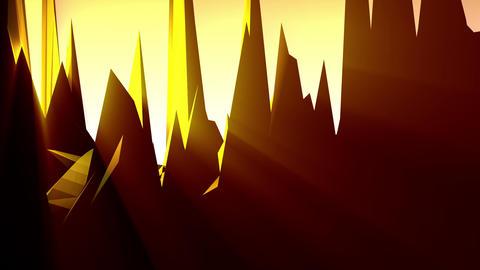 Geometric Mountain 6 Animation