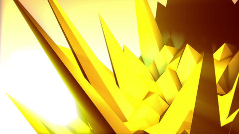 Geometric Mountain 10 Stock Video Footage