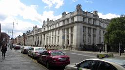 Dublin Architecture 4 Stock Video Footage