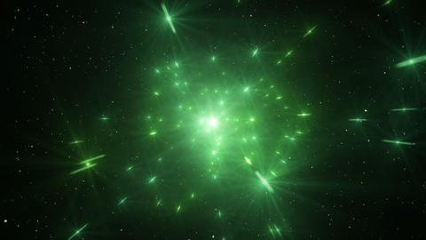 Star Field Space flash a 2b HD Animation