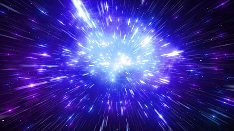 Star Field Space flash b 1c HD Stock Video Footage