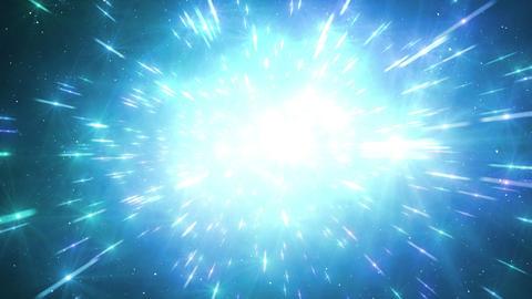 Star Field Space flash b 2b HD Stock Video Footage