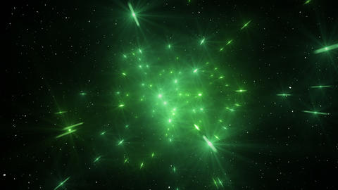 Star Field Space tunnel a 2b HD Animation
