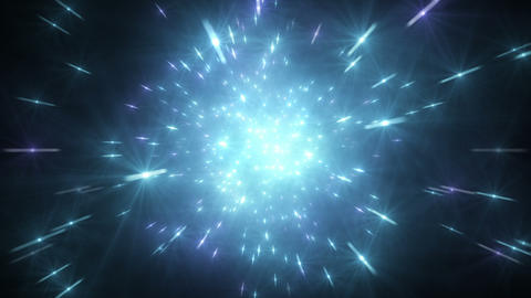 Star Field Space tunnel a 4b HD Stock Video Footage
