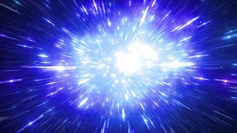 Star Field Space tunnel b 1c HD Stock Video Footage