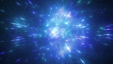 Star Field Space tunnel b 2b HD Stock Video Footage