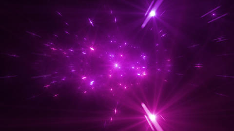 Star Field Space tunnel b 3a HD Stock Video Footage