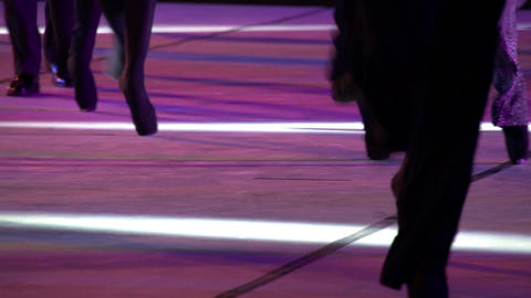 Ballet Catwalk HD Stock Video Footage