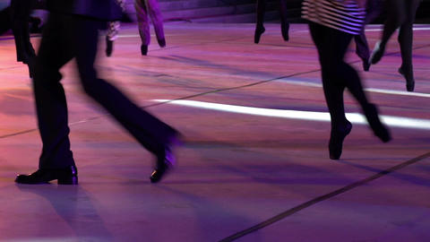 Ballet Catwalk HD Stock Video Footage