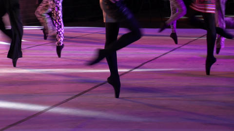 Ballet Catwalk HD Footage