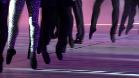 Ballet Show HD Stock Video Footage