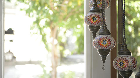 Turkey lamps Stock Video Footage