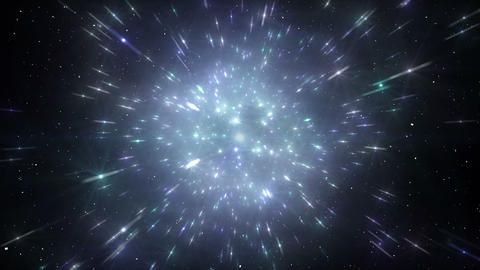 Star Field Space flash a 2a HD Animation