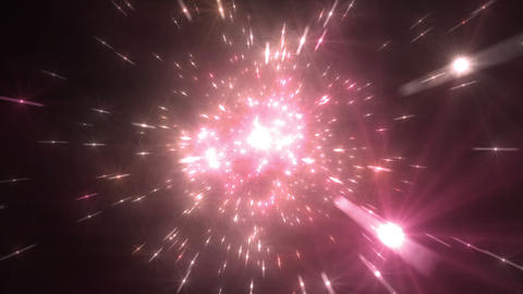Star Field Space flash a 4c HD Stock Video Footage