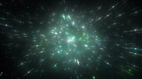 Star Field Space flash b 2a HD Animation