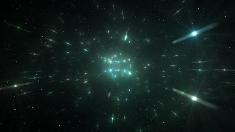 Star Field Space flash b 2a HD Stock Video Footage