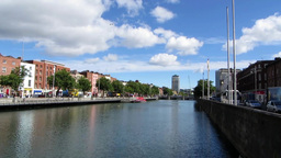 River Liffey 2 stock footage