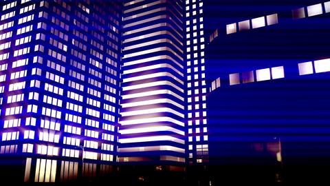 City by Night 01 Animation