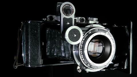 Vintage camera Footage