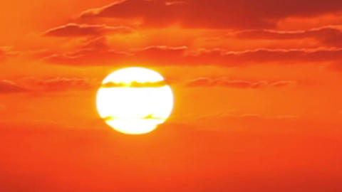 Sunrise (Time Lapse) stock footage