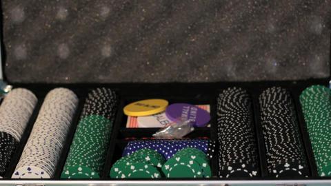 Poker Equipment Stock Video Footage