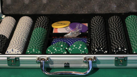 Poker Equipment Stock Video Footage