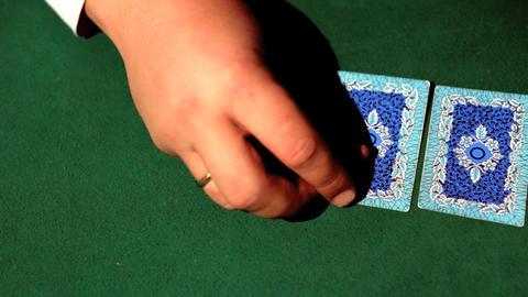 Poker Stock Video Footage