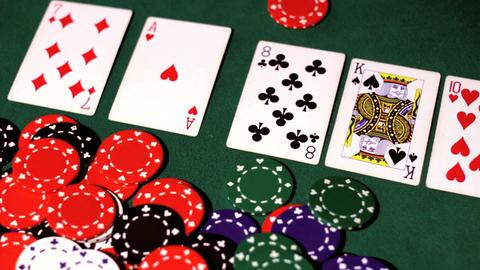 Poker. Winner Footage