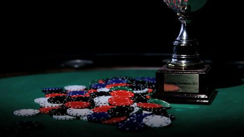 Gambler's Cup. Poker stock footage